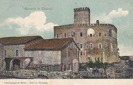 TABIANO-PARMA-IL CASTELLO-CARTOLINA VIAGGIATA NEL 1906 - Parma
