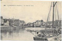 LANDERNEAU : LE QUAI DE LEON - Landerneau