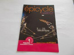 CP PUBLICITE  CIRQUE  EPICYCLE  CIRK VOST  ESPACE CIRQUE ANTONY (92)  DECEMBRE 2010 - Cirque