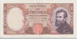 ITALY  P. 97b 10000 L 1964 VF - 10000 Liras