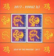 Azerbaïjan 2017.  The Year Of Rooster. Chinese New Year...   MNH - Azerbaijan