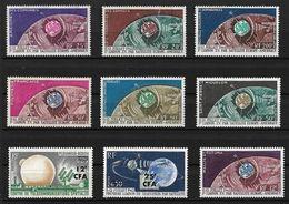 Gdes Series. Liaison TV Par Satellite 1962 ( 9 Valeurs) Cote + 110€ - Sin Clasificación