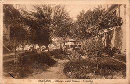 Sondrio Albergo Caval Bianco -Giardino - Sondrio