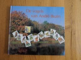 Buzin , De Vogels Van Andre Buzin + Zegels - 1985-.. Oiseaux (Buzin)