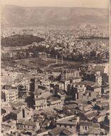 GRECE  ATHENES La Ville Vue De Ll'ACROPOLE Avril 1956  Amateur Format Environ 8,5 Cm X 11 Cm - Places
