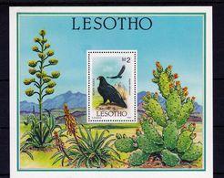 Lesotho - Black Eagle M/S 1986 UMM - Lesotho (1966-...)