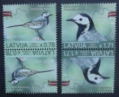 Lettland   Paar    Europa  Cept   Nationale Vögel   2019    ** - 2019