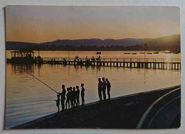 PASSIGNANO SUL TRASIMENO - Tramonto Sul Lago - Pescatori / Fishermen  - Vg - Perugia