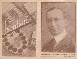 BOLOGNA-MARCONI-PUBBLICITARIA-ACQUERELLI E PASTELLI =LEONHARDI=-NO CARTOLINA - Bologna