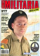 Militaria Magazine N° 77 South African Tank Corps Lee Grant Régiment Territorial Bandenkampfabzeichen - Magazines & Papers