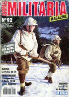 Militaria Magazine N° 92 Armée Des Alpes PZKW 35 U Boote 19e Division De Bretagne - Magazines & Papers
