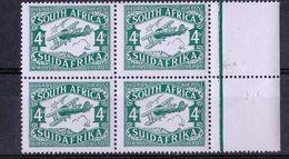 South Africa - UMM Air Mail Block Of 4, 1924 - Gebraucht