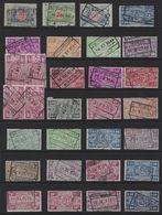 Y116 - Belgium - Railway Parcel Stamps - Used Lot - Railway