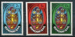 Rhodesien Mi# 123-5 Postfrisch MNH - Christmas - Rhodésie (1964-1980)
