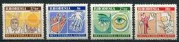 Rhodesien Mi# 166-9 Postfrisch MNH - Work Safety - Rhodésie (1964-1980)