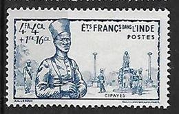 INDE N°124 N** - Inde (1892-1954)