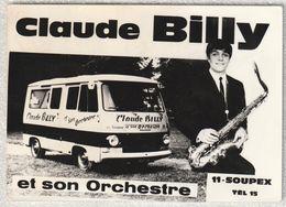 11 - Soupex - Claude Billy Et Son Orchestre - Autres Communes