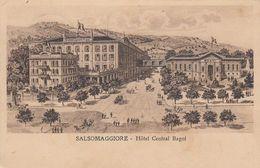 SALSOMAGGIORE-PARMA-HOTEL=CENTRAL BAGNI= -CARTOLINA VIAGGIATA IL 19-8-1920 - Parma