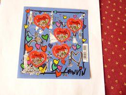 A Vendre Blocs- Feuillets  Oblitéré 2010 N° 129 . Saint Valentin Maison De Couture Lanvin - Blocks & Kleinbögen