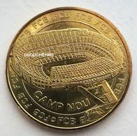 Monnaie De Paris. Football Espagne - Stade FC Barcelone  Camp Nou 2015 - Monnaie De Paris