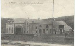 13. VIREUX : Les Nouvelles Fonderies De Vireux-Molhain - TRES RARE VARIANTE - Cachet De La Poste 1910 - France
