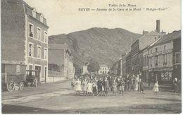 REVIN : Avenue De La Gare Et Le Mont Malgré-tout - RARE VARIANTE - Cachet De La Poste 1910 - Revin