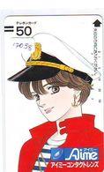 Télécarte Japon * 110-15913 * MANGA * AIME * ANIME Japan (17058)  FRONT BAR * Phonecard * Balken Telefonkarte - BD
