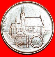 · GERMANY (1993-2019): CZECH REPUBLIC ★ 10 CROWNS 1993 NOT SMALL KČ! LOW START ★ NO RESERVE! - Czech Republic