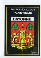 Blason.Ecusson Adhésif Autocollant. - Bayonne