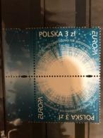 Poland 2009. EUROPA. Astronomy. Mi 4425. Tete Beche 2 Stamps. MNH** - 1944-.... Republic