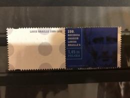 Poland 2009. Braille. Mi 4457.1 Stamp & Label . MNH** - 1944-.... Republic