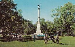Near Savannah Tennessee TN - Shiloh Military Park - Iowa Monument - Union Confederate Battle - Unused - 2 Scans - Autres