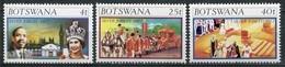 Botswana Mi# 179-81  Postfrisch MNH - QEII - Botswana (1966-...)