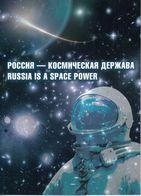 Souvenir Packs_RU_995 2876-2878 Bl301 Mih 2625-2627 Russia 06 2020 NO EXTRA FEES Russian-German Space Orbital Astrophys - 1992-.... Föderation