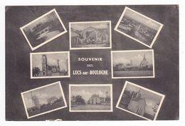 85 Les Lucs Sur Boulogne En 8 Vues Moulin à Vent VOIR DOS Collec H. Moreau Photo Rocheservière - Les Lucs Sur Boulogne