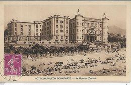 20, Corse, ILE ROUSSE, Hotel Napoléon Bonaparte, Scan Recto-Verso - France