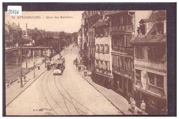STRASBOURG - QUAI DES BATELIERS - TRAMWAY - TB - Strasbourg
