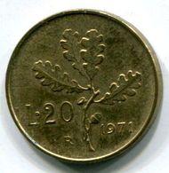 20 Lire (1971) - 1946-… : Republic