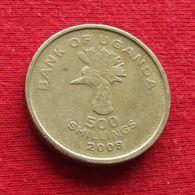 Uganda 500 Shillings 2008 KM# 69  *V1 Ouganda Oeganda - Uganda