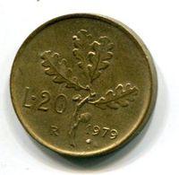 20 Lire (1979) - 1946-… : Republic
