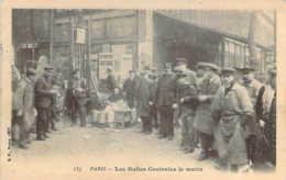 Paris I  Marchande De Soupe Le Matin Aux Halles Centrales De Paris Carte Précurseur - Artisanry In Paris