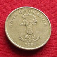 Uganda 500 Shillings 1998 KM# 69 Ouganda Oeganda - Ouganda