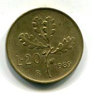 20 Lire (1989) - 1946-… : Republic