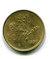 20 Lire (1990) - 1946-… : Republic