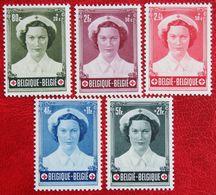 Prinses Josephine-Charlotte (1 Stamp Missing) 1953 OBP 912 914-917 (Mi 961 963-966) POSTFRISMNH ** BELGIE BELGIUM - Unused Stamps