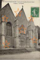 70.Vaulx-Vraucourt Canton De Croisilles ( Pas-de-Calais ) L'Eglise-La Façade - France