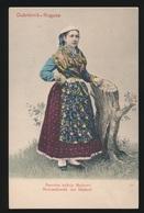 FOLKLORE MONTENEGRO - DUBROVNIK  RAGUSA - Costumes