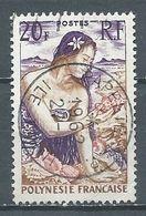 Polynésie Française YT N°11 Jeune Fille Au Coquillage Oblitéré ° - Used Stamps
