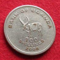 Uganda 100 Shillings 2008 KM# 67a Magnetic *V1 Ouganda Oeganda - Ouganda