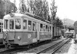 BVA - St-Gall BDe 4/4 7  - TB - T.B.  Trogenerbahn  Appenzeller Bahnen Ligne De Chemin De Fer Train - SG St. Gallen